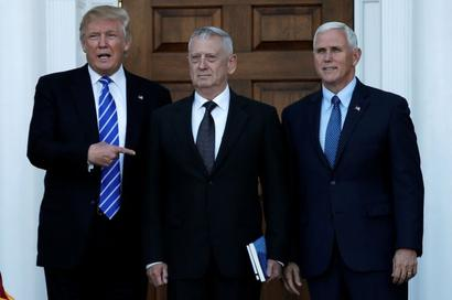 Trump to appoint 'Mad Dog' as new defence secretary