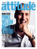 Prince William makes history as cover star of gay magazine Attitude