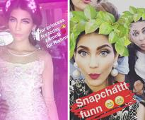 10 celebrities who are obsessed with Snapchat filters
