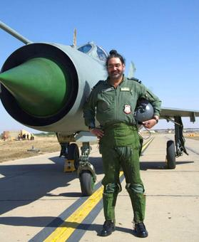 PHOTOS: IAF chief BS Dhanoa flies solo in MiG-21