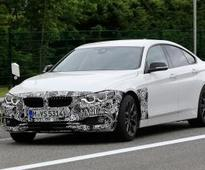 New BMW 4 Series Gran Coupe facelift spied testing