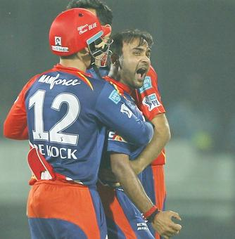 Amit Mishra reprimanded for using inappropriate language