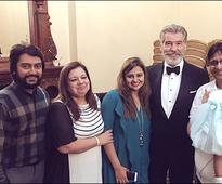 Check out Vashu Bhagnani turns host for Hollywood star Pierce Brosnan