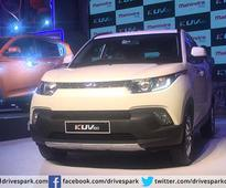 Mahindra Launches KUV100 In India For Rs. 4.45 Lakh