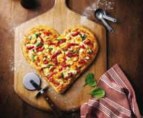 Where to find heart-shaped donuts and pizzas this Valentine's Day