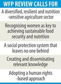 Diversify agriculture to  ensure food security: WFP