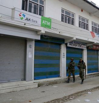 Bank robbery bid foiled in Anantnag, one terrorist arrested