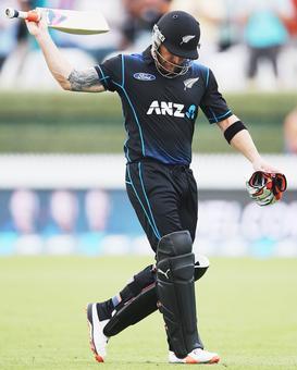 Brendon McCullum scores 47 in ODI swansong