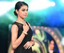 Urmila walked the ramp at Kamadhenu Jewellery pre-launch fashion show at Grand Chola in Chennai