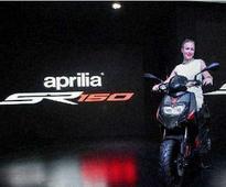 Piaggio to launch Aprilia SR 150 next month