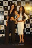 Shilpa, Malaika sizzle at Viaan mobile launch