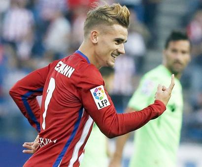 Football Briefs: Atletico report Barcelona over Griezmann approach