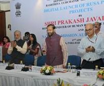 Prakash Javadekar launches Portal and Mobile App of RUSA