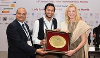 OYO Founder & CEO Ritesh Agarwal felicitated for 'pioneering work...