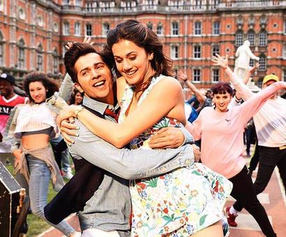 Why did Varun apologise to Taapsee?