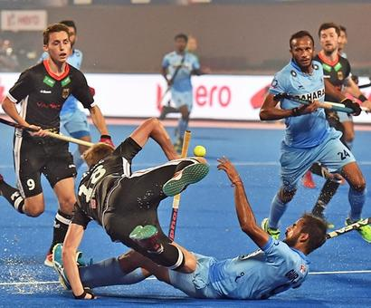 India winless in Hockey World League Finals