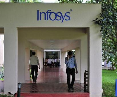 Infy beats Street; Q3 profit after tax grows 38% QoQ
