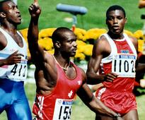 Ben Johnson was fast, justice was faster