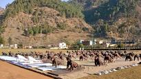 International Yoga Day: Indo-Tibetan Border police performs Yoga at -25 degree temperature in Ladakh