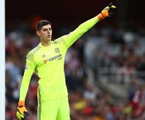 Premier League: Chelsea's clash with Manchester City will not define season, says Thibaut Courtois
