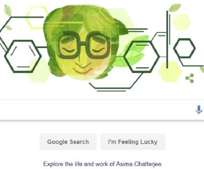 Google celebrated her 100th birthday. Who was Dr Asima Chatterjee?