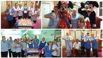 Mickey Mouse visit to Larkfield View