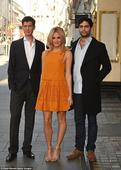 Pixie Lott shows off her lithe limbs at Breakfast at Tiffany's photocall