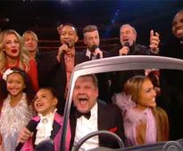 Grammy 2017: JLo, Blue Ivy join Corden in 'Carpool Karaoke'
