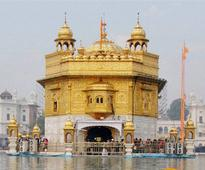 Gun shot fired at Golden Temple from outside