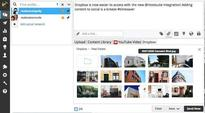 Hootsuite integrates with Dropbox, Google Drive and more