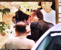 EXCLUSIVE PICTURES: Nicolas Cage enjoys cozy date with kimono-clad mystery woman after separating from wife Alice Kim