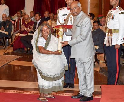 PHOTOS: Illaiyaraja, Ghulam Mustafa Khan, 41 others given Padma awards