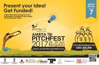 Amrita TBI to invest $200K in three startups at the 5th edition of PitchFest
