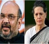 Amit Shah again targets Sonia Gandhi over Agusta deal