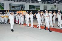 Naval academy bids adieu to deceased cadet