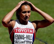 Jessica Ennis-Hill's golden Olympics defence in doubt after injury setback