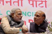 With a Gandhi and Amit Shah by his side, Narendra Modi sets up BJP for 2014 poll