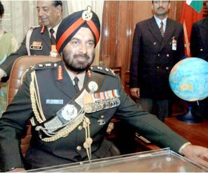 Ex-army chief J J Singh gets highest French civilian honour