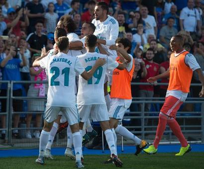 Ronaldo the hero again as Real edge past Getafe