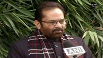 Chaos should be avoided in winter session, says Mukhtar Abbas Naqvi
