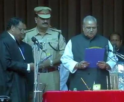 Satya Pal Malik sworn in as Bihar Governor