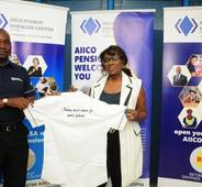 AIICO Pension Managers Unveils Joke Silva as Brand Ambassador.