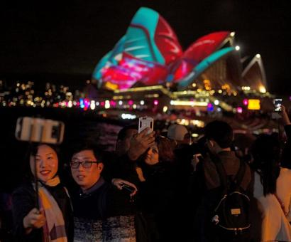 Let there be light! Sydney shines at Vivid festival