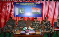 BSF-Pak Rangers hold flag meeting along IB