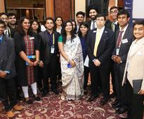 Training young!  Enactus India National Competition