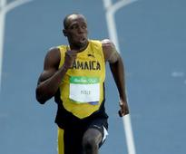 Usain Bolt says it is probably going to be hard to get the 200-meter world record