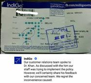 Reactions to religious discrimination of MG Editor by IndiGo airlines