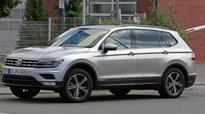 Volkswagen's SUV Tiguan XL spotted testing