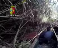 VIDEO: The bunker where on-the-run mobsters were finally found in Italy