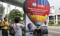 Singapore Airlines creates stir with a 3D hot air balloon